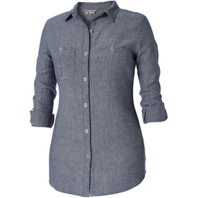 Royal Robbins Cool Mesh L/S Shirt Women Deep Blue